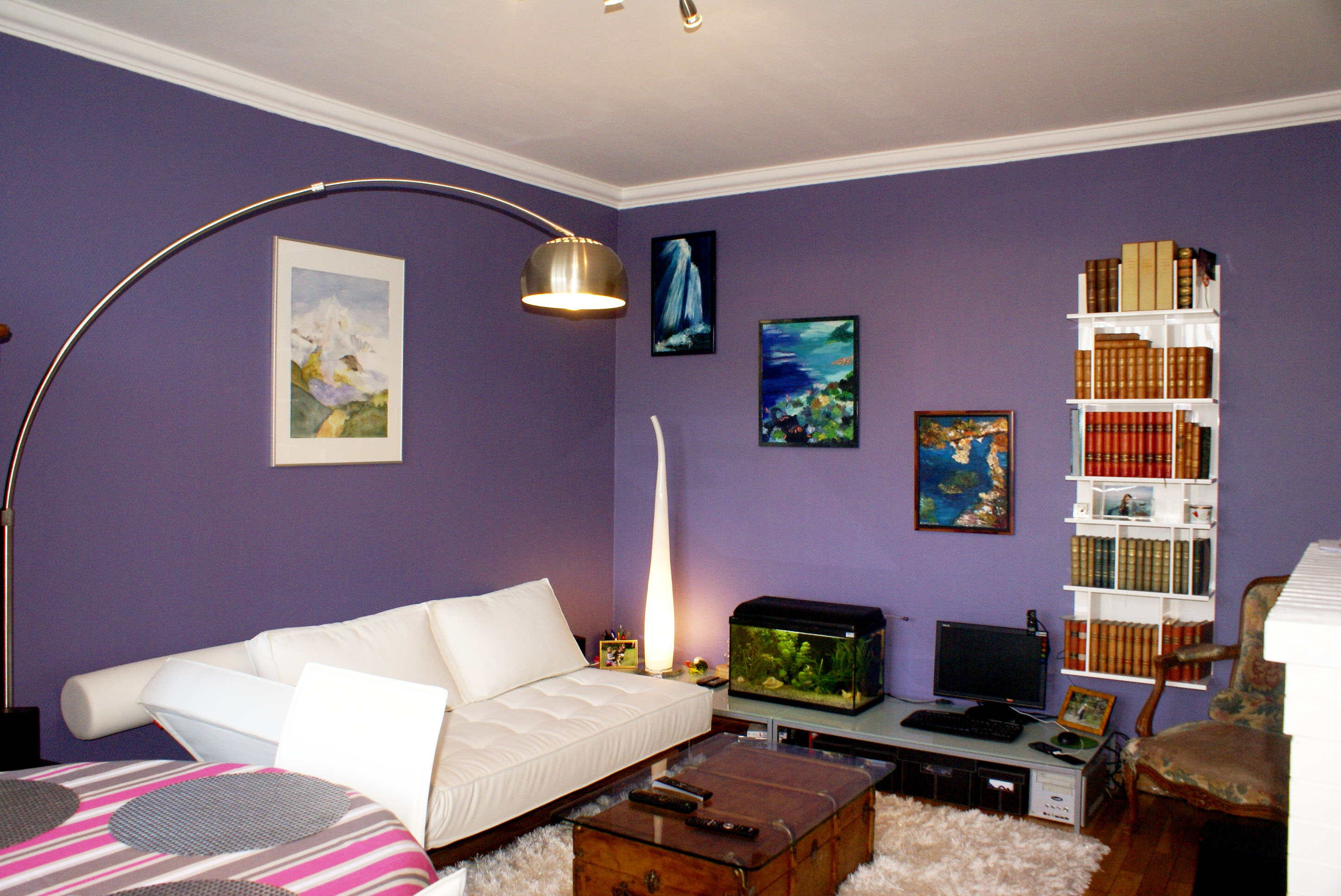 couleurs, salon, design, ile de france, Paris, appartement